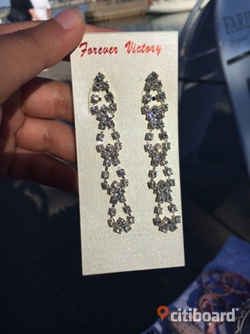 Glam earrings Skåne Båstad