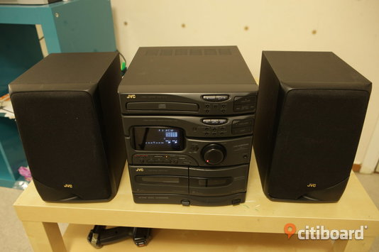 JVC hifi set - Stockholm, Stockholm - JVC hifi set, in good condition, can pick up in Hjulsta i Spanga. - Stockholm, Stockholm