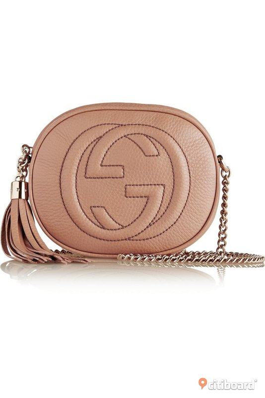 GUCCI mini chain bag i leather Avesta Sälj