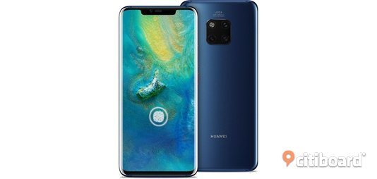 HUAWEI Mate 20 Pro - Dual Sim - In-screen Fingerprint - Twilight  Mellerud