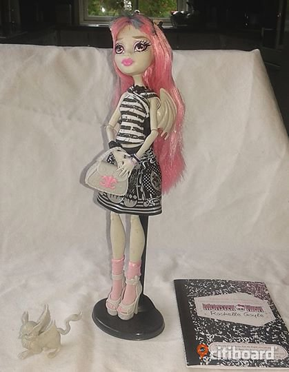 monster high dagbok