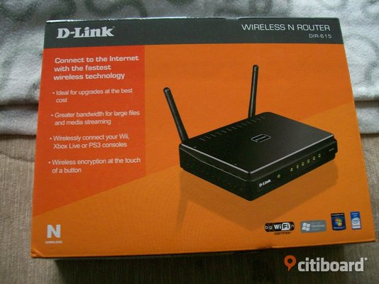 D-Link Wireless N Router - Stockholm, Södertälje - D-Link Router Dir-615 2st antenner - Stockholm, Södertälje