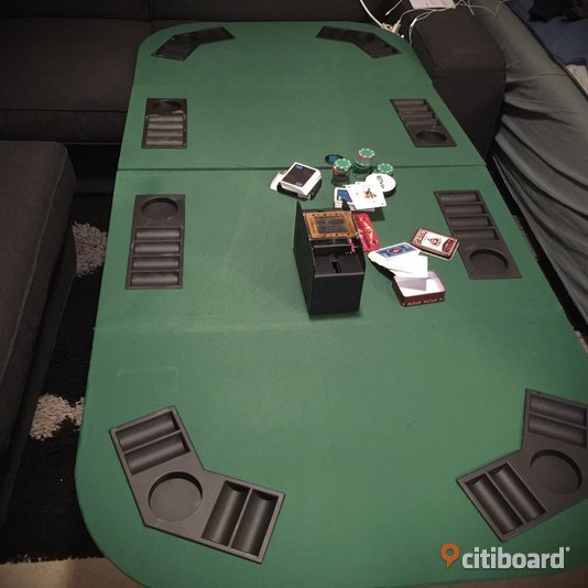 Poker Table/dealer button/ 888steel hand protector/ card shuffler/few original chips/ 3 different vinyl brand new cards