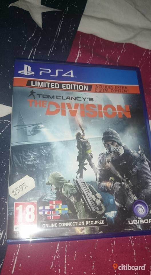 PS4 Tom Clancy´s The Division Västernorrland Kramfors