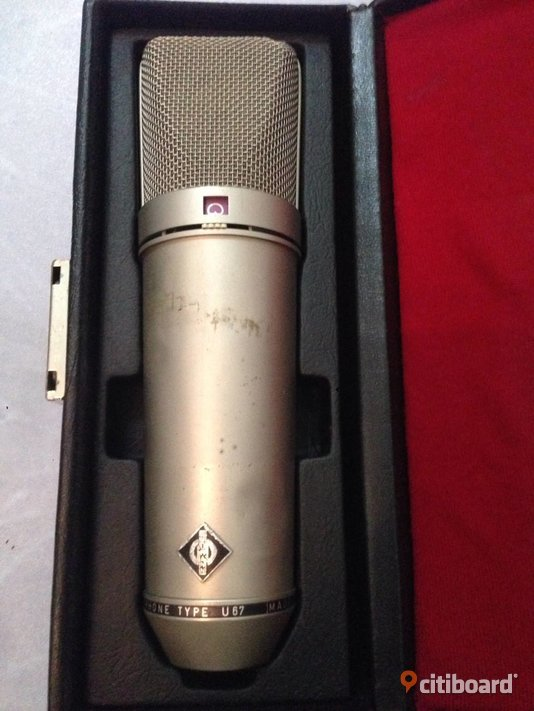 Neumann U67 Vintage Mikrofon Made in Germany Stockholm Sälj