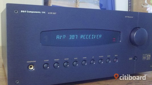 B&K home theater receiver, Stereo & Surround Malmö