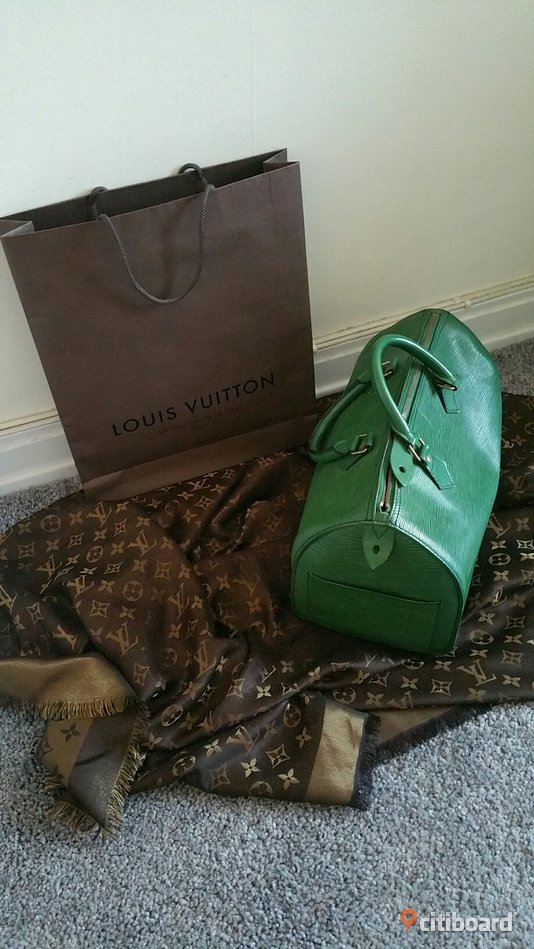 Vintage Louis Vuitton Speedy 30 epi  Solna
