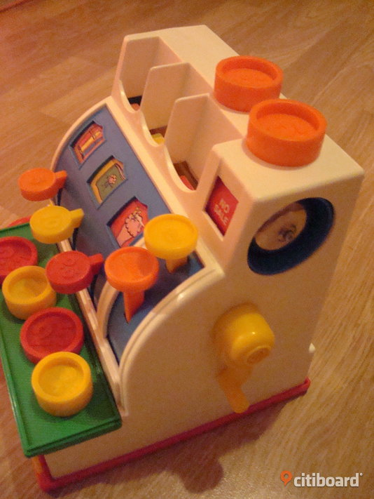 Fisher Price kassaapparat barn - Stockholm - citiboard 23a2dec2a9022