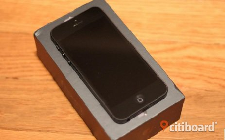Iphone 5 16 GB Svart Norrbotten Jokkmokk