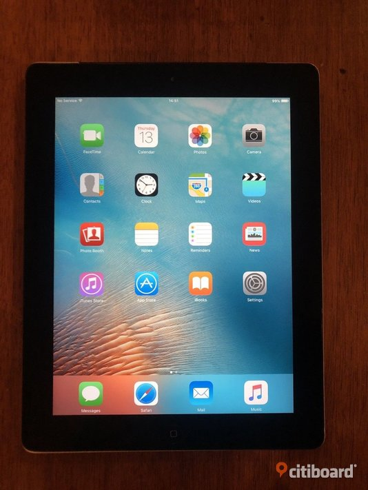 Apple iPad 1 16GB, Wi-Fi, 9.7in - Black Ljungby Sälj