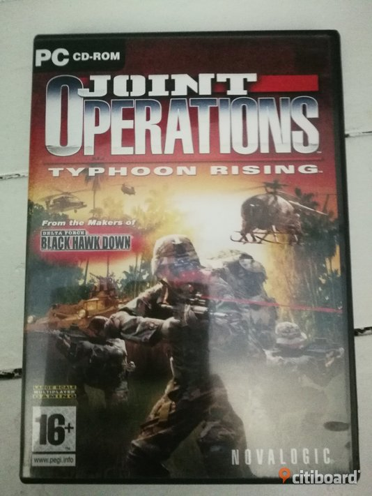 "PC-spel "" Joint operations typhoon rising""  Borås / Mark / Bollebygd"