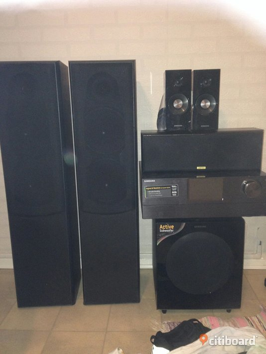 Samsung 7.2 system Stereo & Surround Norrköping