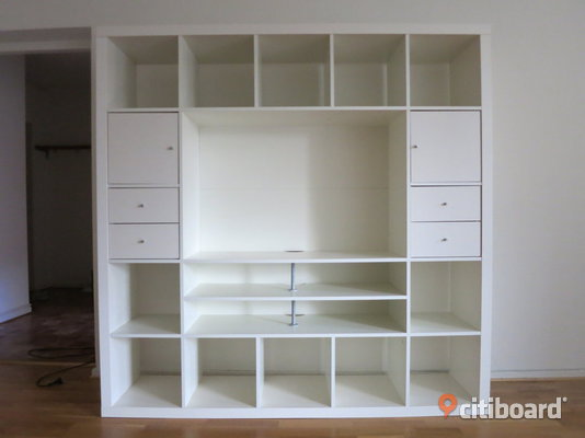 tv hylla expedit fr n ikea malm citiboard. Black Bedroom Furniture Sets. Home Design Ideas
