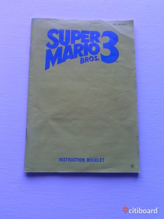 super mario bros 3 manual