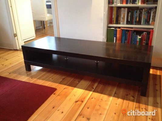tv b nk ikea lack svart nyskick stockholm citiboard. Black Bedroom Furniture Sets. Home Design Ideas
