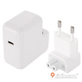 MacBook 12 tum 14.5V 2A USB 3.1 C 29W nätadapter laddare EU
