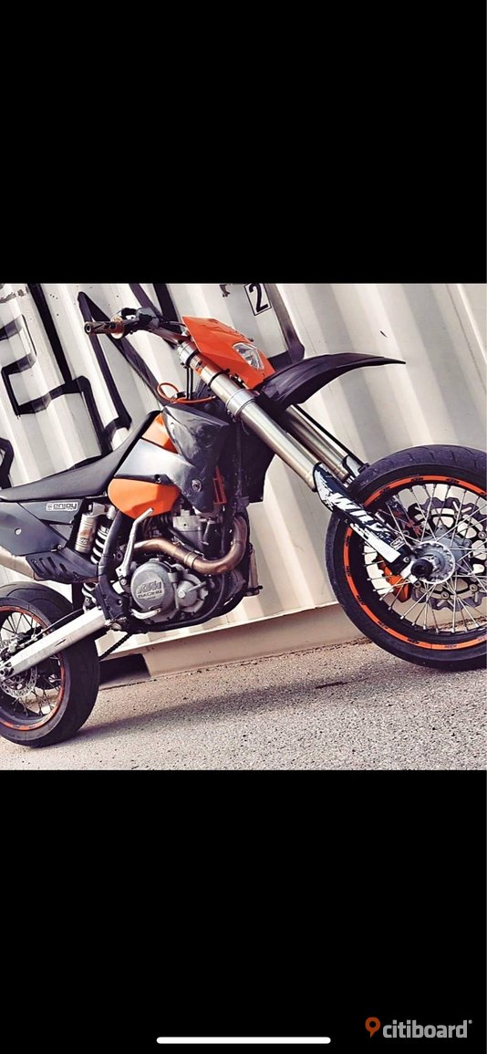 KTM 525sx  2005 (Cross med motardkit)
