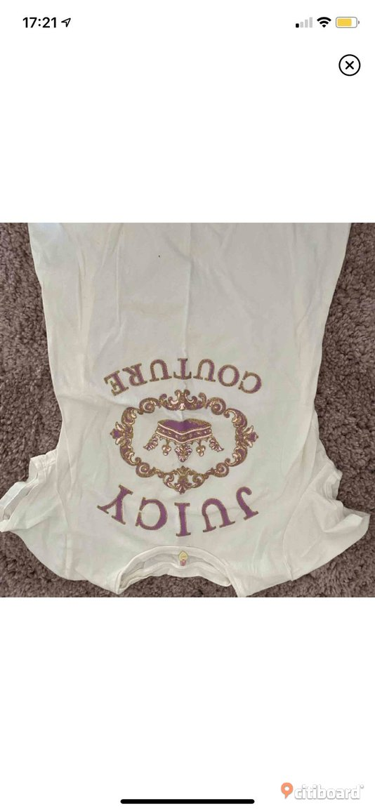 Juicy couture t shirt  32-34 (XS) Nacka