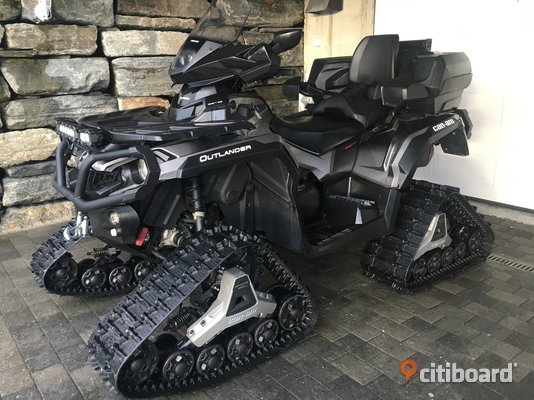 2014 Can-Am Outlander 650 XT Boden