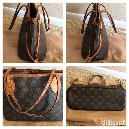 LOUIS VUITTON NEVERFULL PM Göteborg Sälj