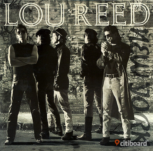Lou Reed - New York 1989, Vinyl, LP Umeå Sälj