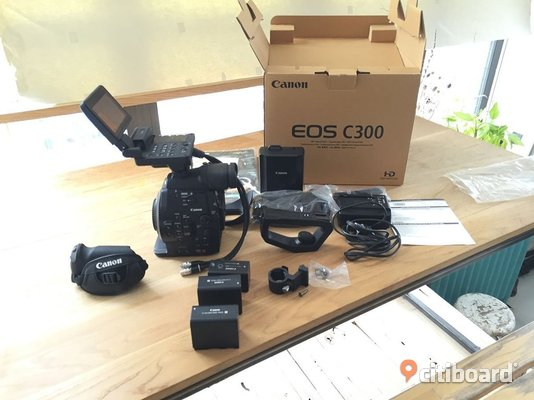 Canon Cinema EOS C300 Mark II / / Nikon D4 / Sony Alpha a7R III - Stockholm, Stockholm - In the Box Canon Cinema EOS C300 Mark II Camcorder Body with Dual Pixel CMOS AF (EF Lens Mount) Monitor Unit Handle Unit Handle Bracket Expansion Unit Attachment BP-A30 Battery Pack For EOS C300 Mark II, C200, and C200B Battery Char - Stockholm, Stockholm