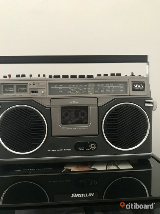 Aiwa TPR-920 Stereo Radio Cassette Recorder (1977) Vimmerby