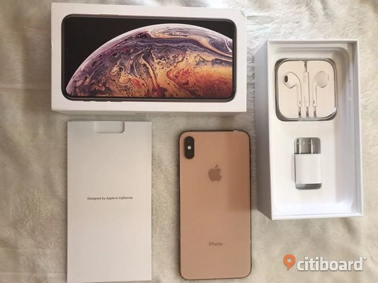 iPhone XS Max 256Gb original con garantía - Whatsapp: +14056558623 Elektronik Stockholm