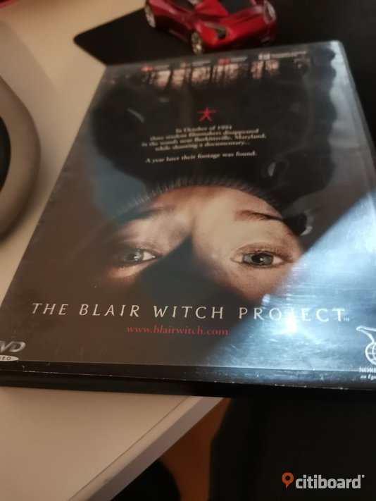dvd film THE BLAIR WITCH PROJECT Övrigt Motala