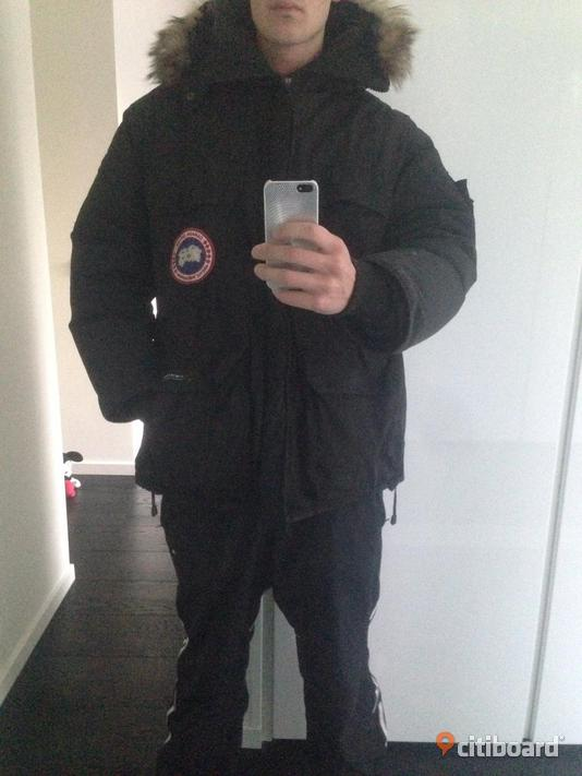 Canada Goose Expedition Parka Herr Svart