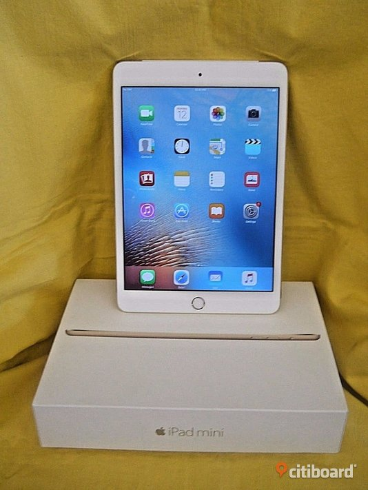 Apple iPad Mini 3 Gold 16GB Surfplatta  Kristianstad