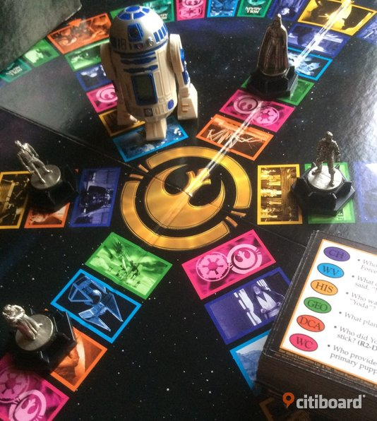 Star Wars Trivial Pursuit  Fritid & Hobby Nacka